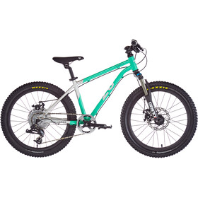 "Early Rider Hellion Trail MTB Hardtail 20"" Kinder brushed aluminum/cyan"